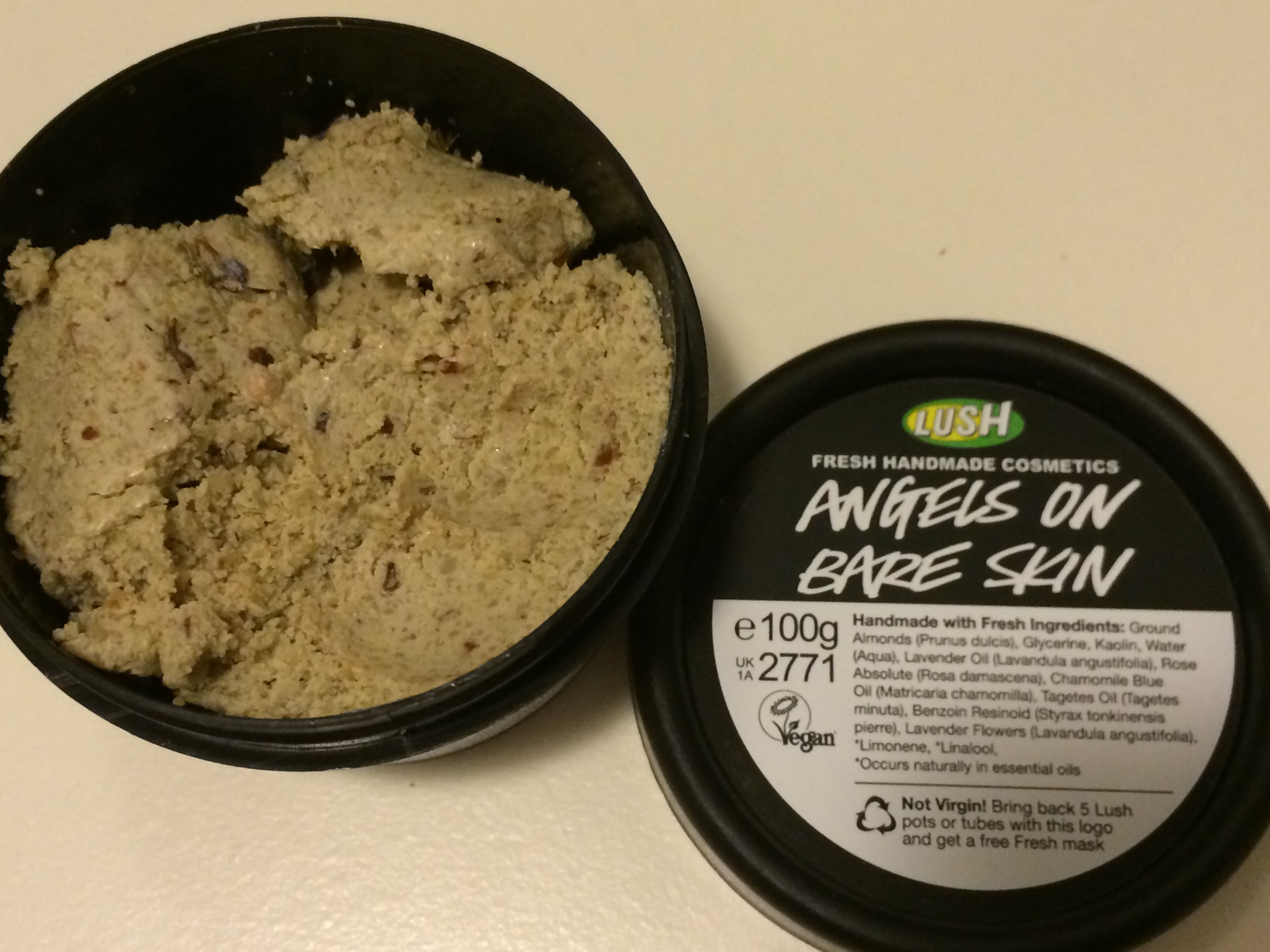 the perils of sensitive skin lush products and samples once upon