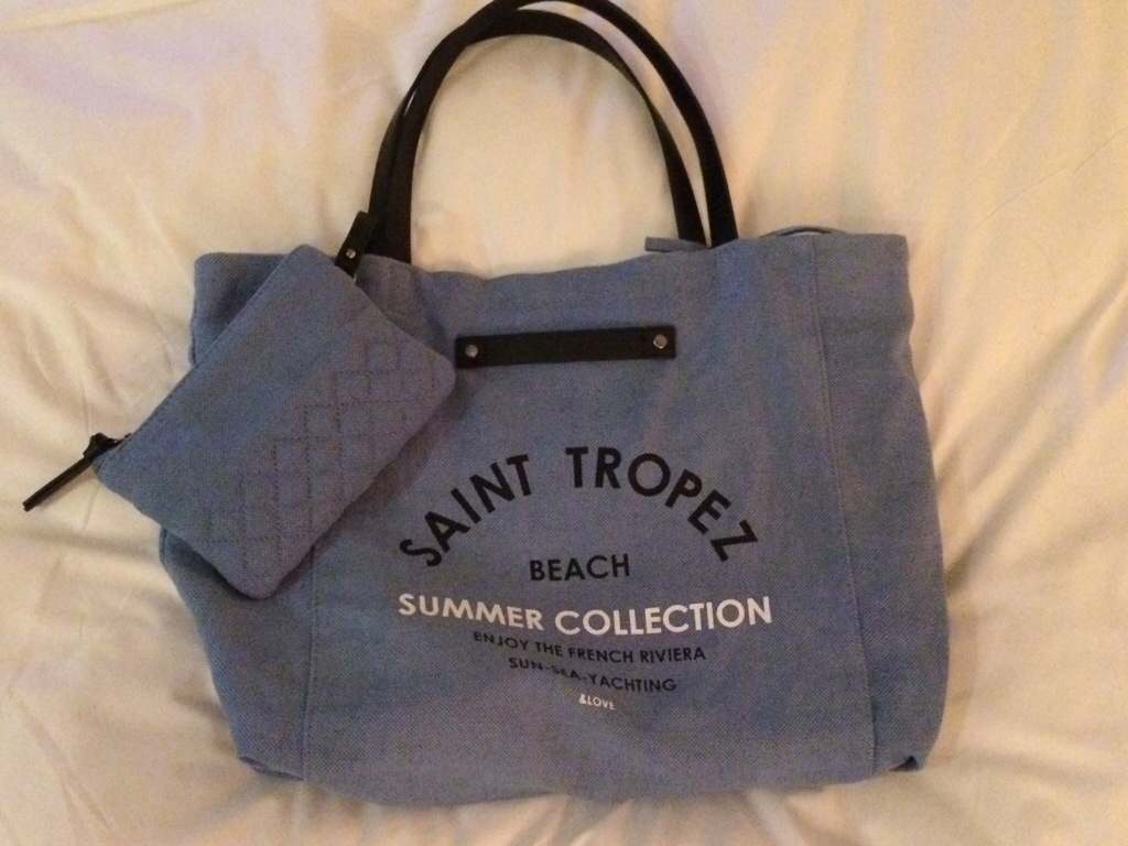 Chic High Street Beach Bag | Once Upon a Glam...